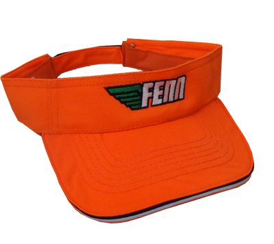 Fenn-Fluro-Orange-Visor